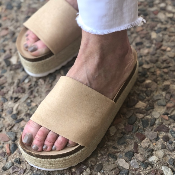 673169c92 Chinese Laundry Shoes | Just In Dirty Laundry Pippa Slide Sandals ...